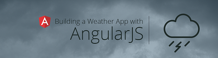 Build a weather app with AngularJS