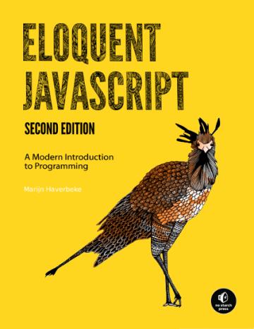 Eloquent JavaScript Cover